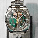 Accutron 214 - Spaceview 'T'-Stainless steel