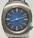 Accutron 2180- Blue Shaded SS