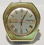 Accutron 2182 Odd shaped-gold plated case