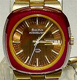 Accutron 2242 - Special Edition Ruby Red Bezel