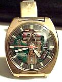 Accutron 214 - Spaceview 'T'-Gold Plated